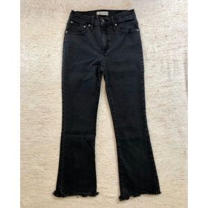 Madewell Cali Demi-Boot Jean (Crop Flare)